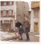 Steve Puhl & Jim Kane  in France with friend