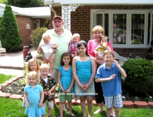 Bill & Dottie Maher and grandchildren (5/2011)