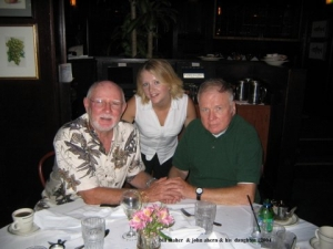 Bill Maher, John Ahern &  John's daughter, Megan (2004)